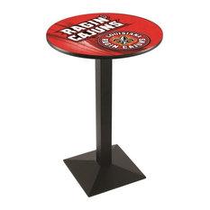 Louisiana-Lafayette Pub Table 28-inchx42-inch by Holland Bar Stool Company