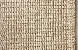 Chunky Wool & Natural Jute Rug