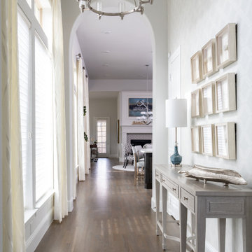 Transitional  First Floor Makeover