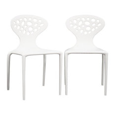Molded Plastic Contemporary Chairs