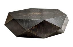 Uttermost Volker Worn Black Coffee Table (25832)