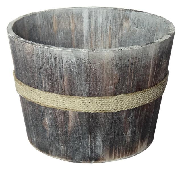 garden bucket. Athens Wooden Garden Bucket, 8.75\ Bucket A