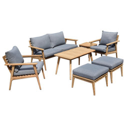 Midcentury Outdoor Lounge Sets by Amazonia