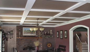 Cofferred ceiling - Drywall Trimed Archway