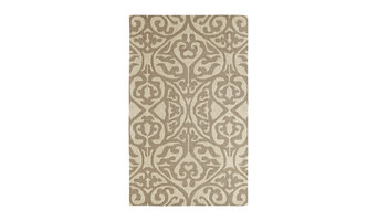 "Dynamic Rugs Palace 5545-919 Silver, Ivory 9'6"" x 13'6"" Rug"