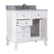 Tesino Bath Vanity Sink With Marble Counter Top