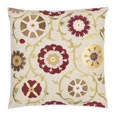 Gardens Cream Decorative Pillow - Set of 2