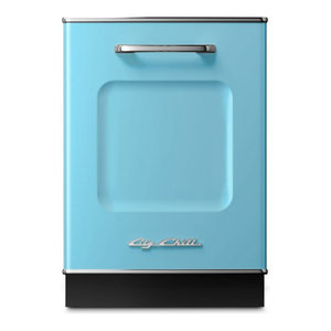Retro Dishwasher, Beach Blue
