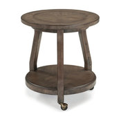 Clearwater American Furniture's Tailor Round End Table