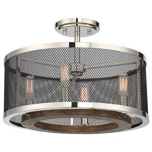 Savoy House Europe Valcour Semi-Flush Lamp