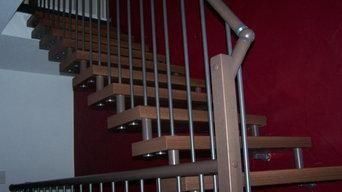 freitragende Treppe  Longlife