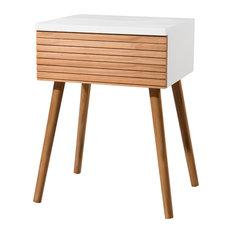 Pedro 1-Drawer Bedside Table