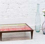 Table basse Goldsilver   Art et Motif – Fanny Desombiaux