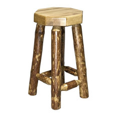 Montana Woodworks Glacier Country Collection Backless Bar Stool