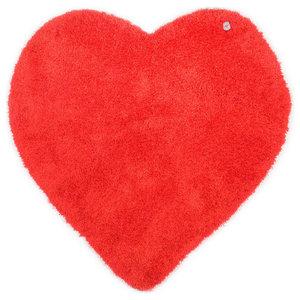 Tom Tailor Kids Rug, Heart, Red, 100x100 cm