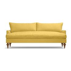 Saxon Sofa, Gold
