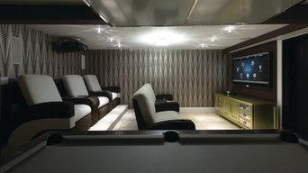 Cinema Room In Oshott