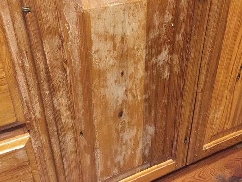 Cypress Cabinet Wear