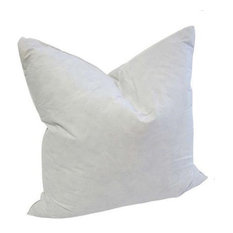 """Square Goose Feather Pillow Form Insert, 24""""x24"""""""