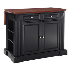 Butcher Block Top Kitchen Island Traditional Kitchen Islands And Kitchen Carts By Crosley