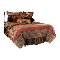 Adirondack Bear and Moose Cabin Comforter Bedding Set, Twin