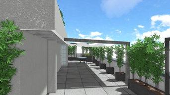 Allestimento e progettazione di un terrazzo