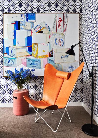 Contemporary  The Art Apartment