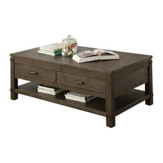 Most Por Rectangular Coffee Table Dimensions Houzz For 2018