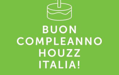 Auguri Houzz Italia! Tour Fra le Case che Vi Sono Piaciute di Più