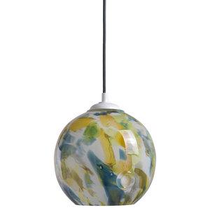 Balloon Multicoloured Glass Pendant Light