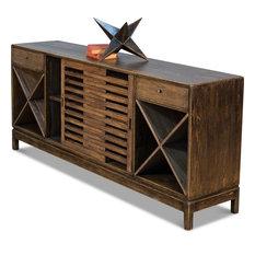Wine Bar Sideboard - Brown