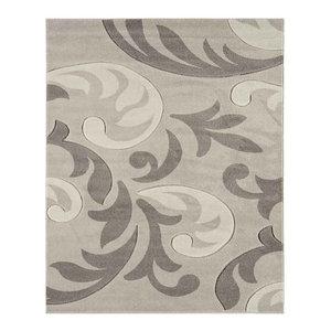 Couture COU13 Rug, Grey, 80x150 cm