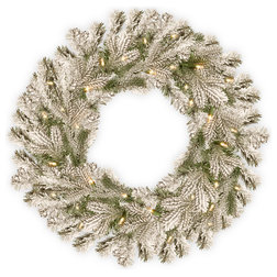 Contemporary Wreaths And Garlands by National Tree Company