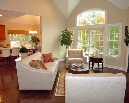 Model Living Room model home living room | houzz