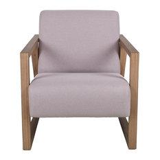 Dukono Natural Teak Accent Chair
