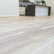 Bleaching hardwood flooring