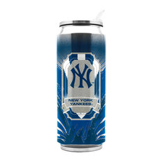 New York Yankees Stainless Steel Thermocan - Large (16.9 Oz)