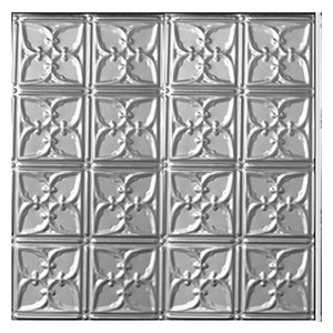 2'x4' Victorian Tin Ceiling Tile, Set of 10