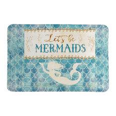 Let's Be Mermaids Memory Foam Rug