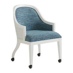 Tommy Bahama Ocean Breeze Bayview Dining Arm Chair With Casters