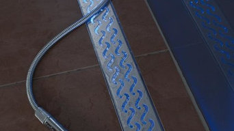 Luxury Linear Drains from QuARTz by ACO