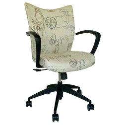 Luxury Contemporary Office Chairs French Script Office Chair