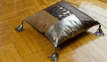 """Handcrafted Leather Floor Pillows 20"""" X 20"""""""