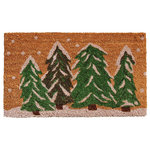 Home & More - Winter Wonderland Doormat - Enhance your entry or patio area with a new doormat that fits your decor and personality. Made of natural coir, a durable, dense fiber that scrapes shoes clean, this mat is vinyl backed for increased durability and to help prevent movement. Weather tolerant and colorfast, coir doormats absorb moisture, retain their shape and will not mat down regardless of the traffic. Vacuum, sweep or lightly hose clean.