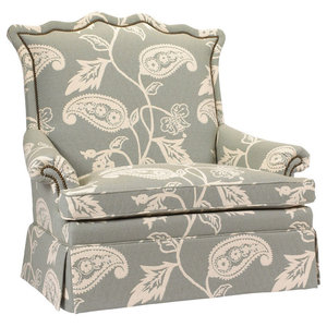 Amazing Isolde French Country Gray White Tufted Club Chair Pdpeps Interior Chair Design Pdpepsorg