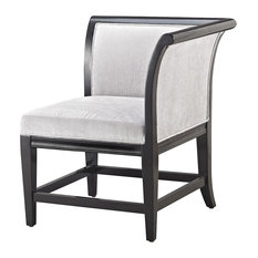 Chair Ostrava Chair In Black and Silver