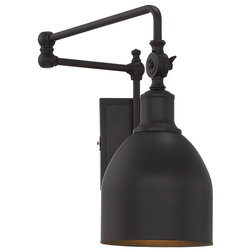 Industrial Swing Arm Wall Lamps by Savoy House