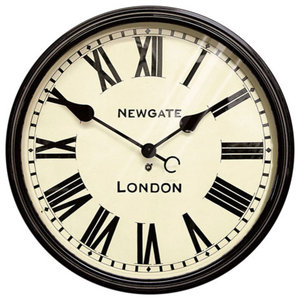 Newgate Battersby Clock, Black