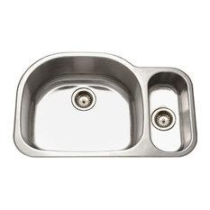 Premiere 80-20 Double Sink Kitchen Sinks | Houzz