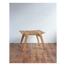 pi stool - oak